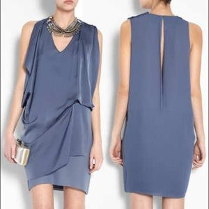 Acne Studio Mallory Crepe Dress Lavender 34 2